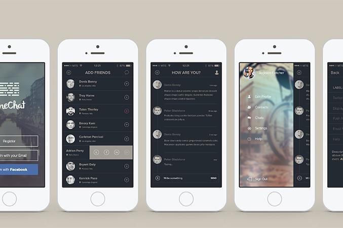 One Chat - چطور اپلیکیشنی با ظاهر جذاب بسازیم؟