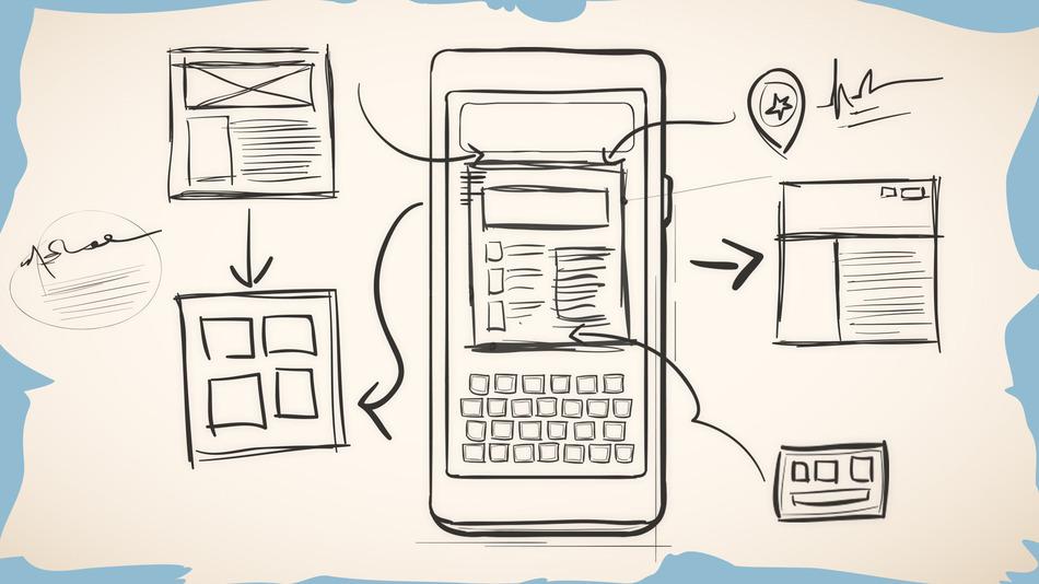 App Wireframes - اهمیت پروتوتایپ در ساخت اپلیکیشن