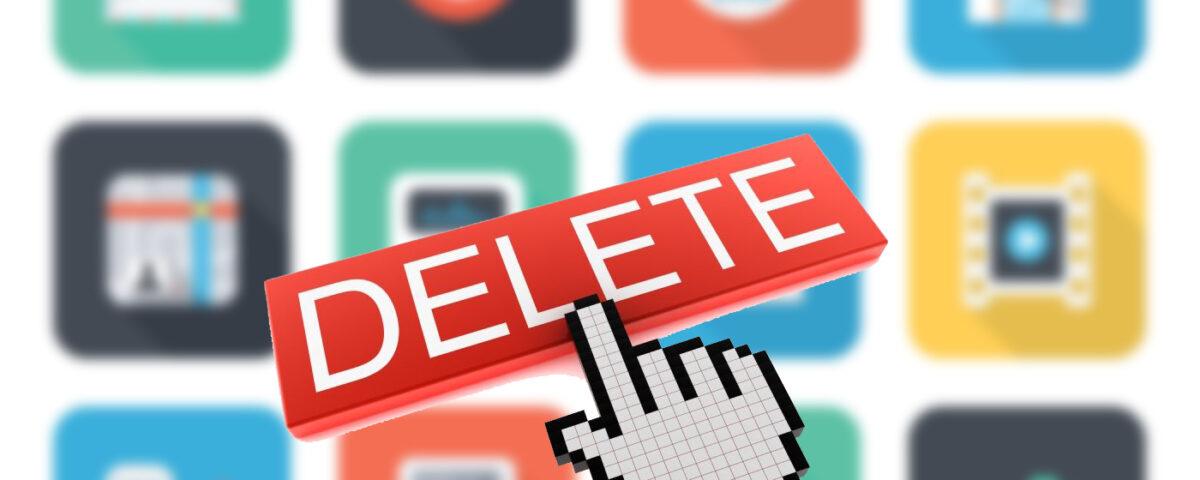 حذف اپلیکیشن