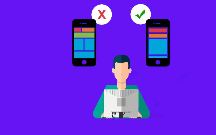 اشتباهات کاربران در طراحی اپلیکیشن