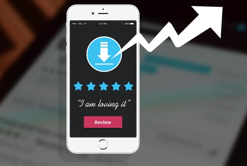 app review 960x644 - چطور از نظرات کاربران جهت افزایش دانلود اپلیکیشن استفاده کنیم؟