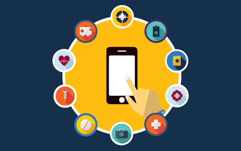 Best Nursing Apps - قرار دادن آیکن های مناسب در اپلیکیشن