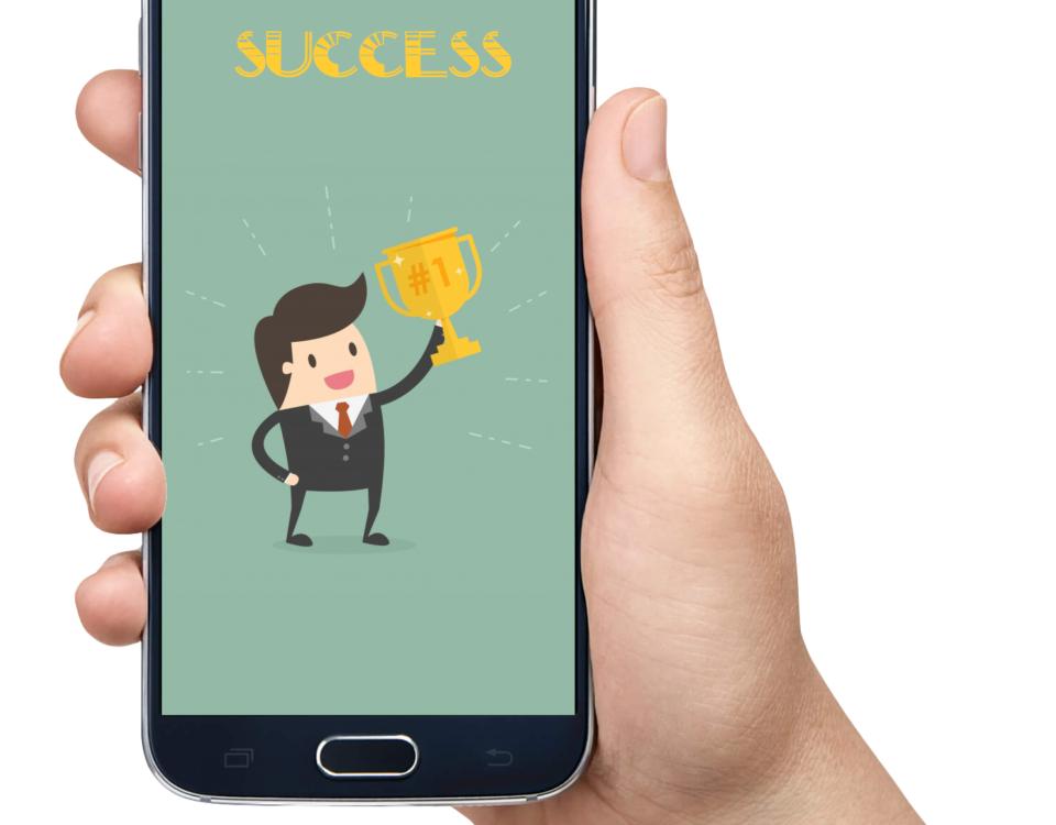 موفقیت یک اپلیکیشن موبایل