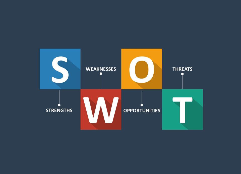تحلیل ایده اپلیکیشن موبایل با استفاده از جدول SWOT