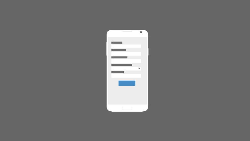 نکات مهم در طراحی فرم اپلیکیشن موبایل @appsaz_ir