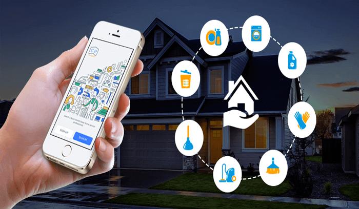 ساخت اپلیکیشن خدمات منزل