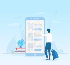 طراحی اپلیکیشن سفر