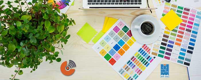 انتخاب رنگ ها برای طراحی اپلیکیشن