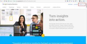 گوگل آنالاتیکس در گوگل
