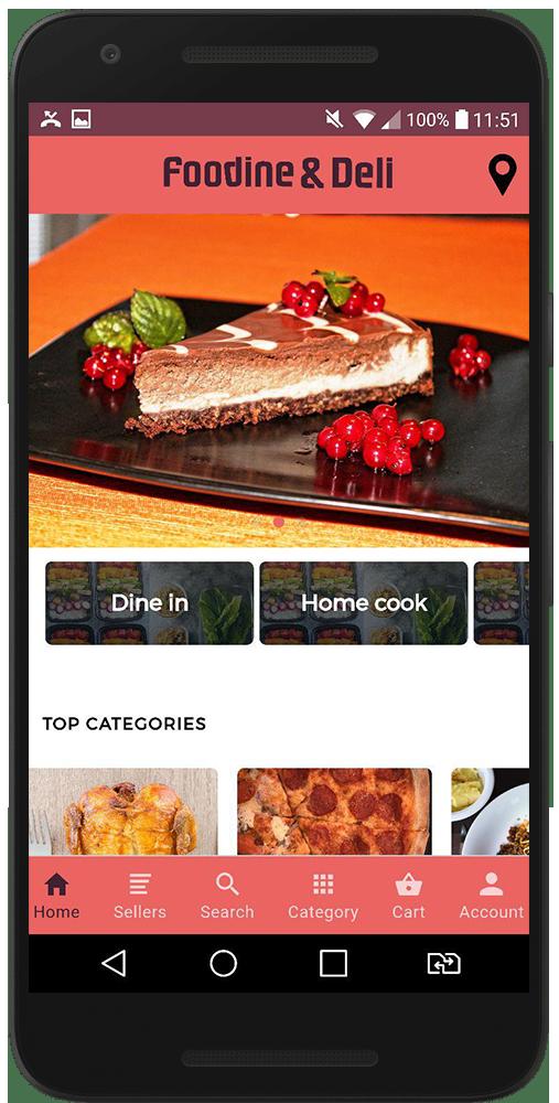 اپلیکیشن رستورانی مشابه اسنپ فود