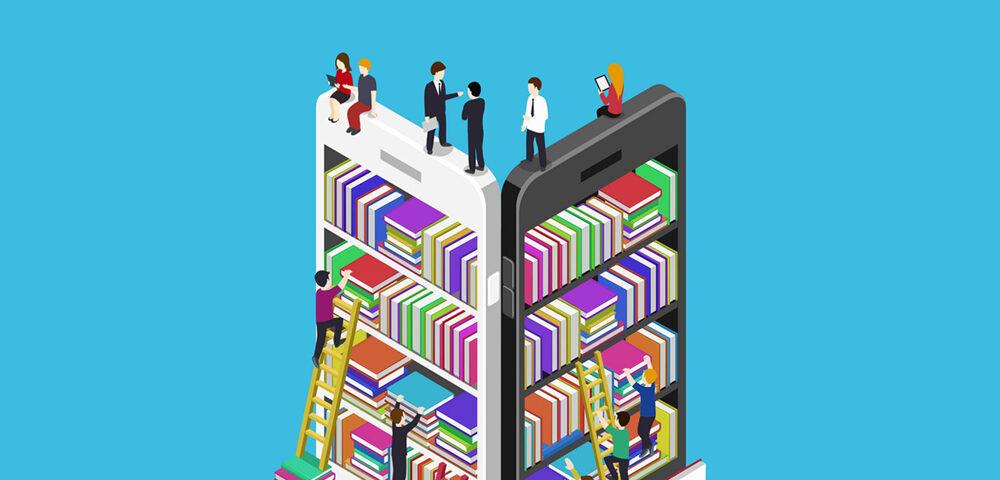 اپلیکیشن کتاب فروشی