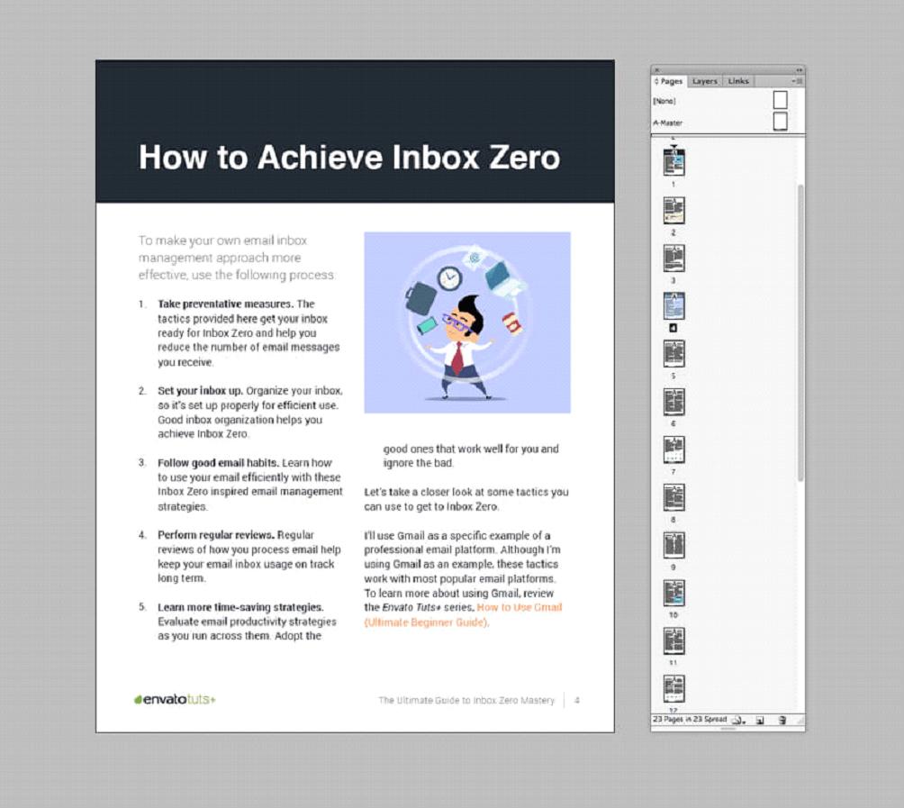خروجی گرفتن pdf تعاملی از سند InDesign یک کتاب الکترونیکی